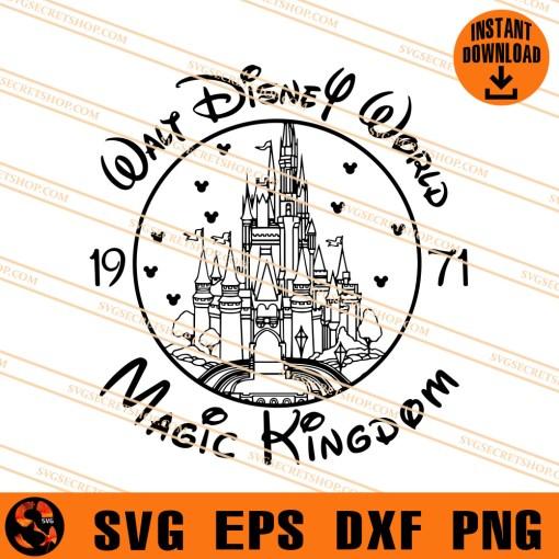 Walt Disney World Magic Kingdom SVG