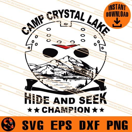 camp crystal lake hide and seek champion SVG