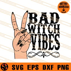 Bad Witch Vibes SVG