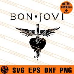 Bon Jovi SVG