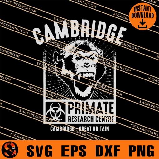 Cambridge Primate Research Centre SVG