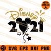 Disney 2021 SVG