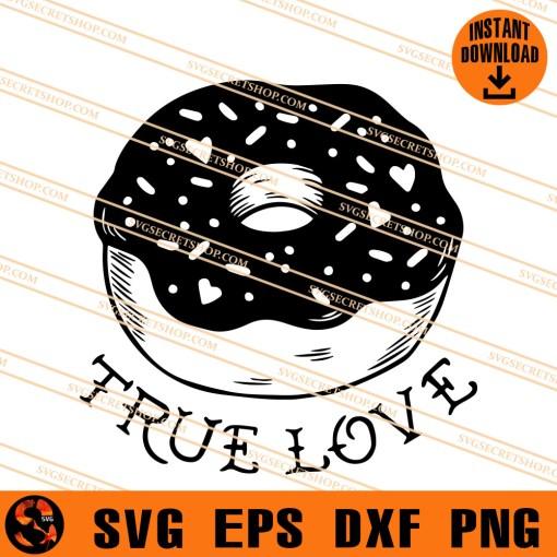 Donut True Love SVG
