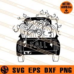 Fall Truck SVG