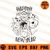 Hapooh New Year SVG