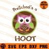 Pre Schools A Hoot Owl SVG