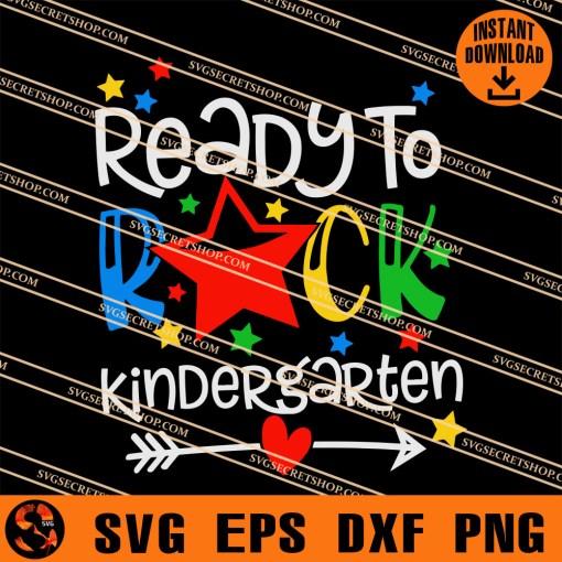 Ready To Rock Kindergarten SVG