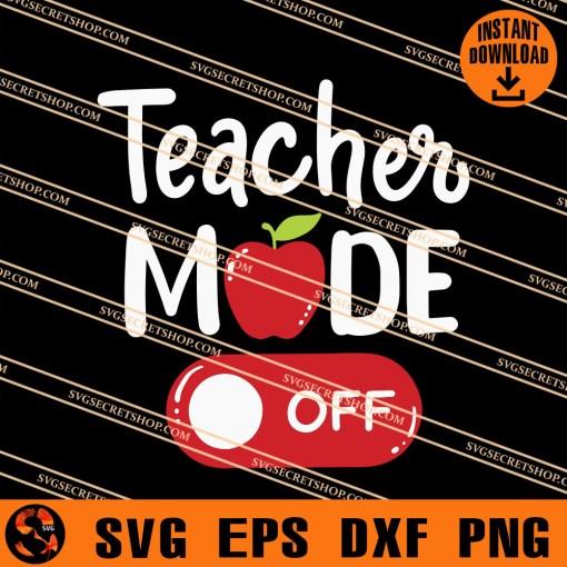 Teacher Mode Off SVG