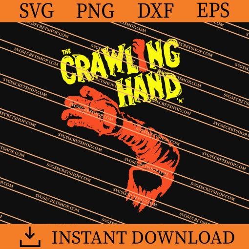 The Crawling Hand SVG