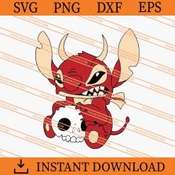 Stitch Devil SVG