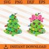 Christmas Tree with Lights SVG