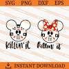 Killin It Mickey Jason Voorhees SVG