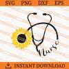 Stethoscope Nurse SVG