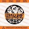 Welcome Halloween SVG