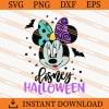 disney halloween minnie SVG