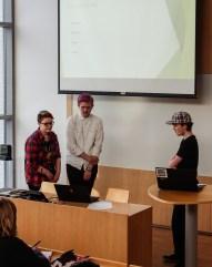 Finalistene presenterer sine løsninger