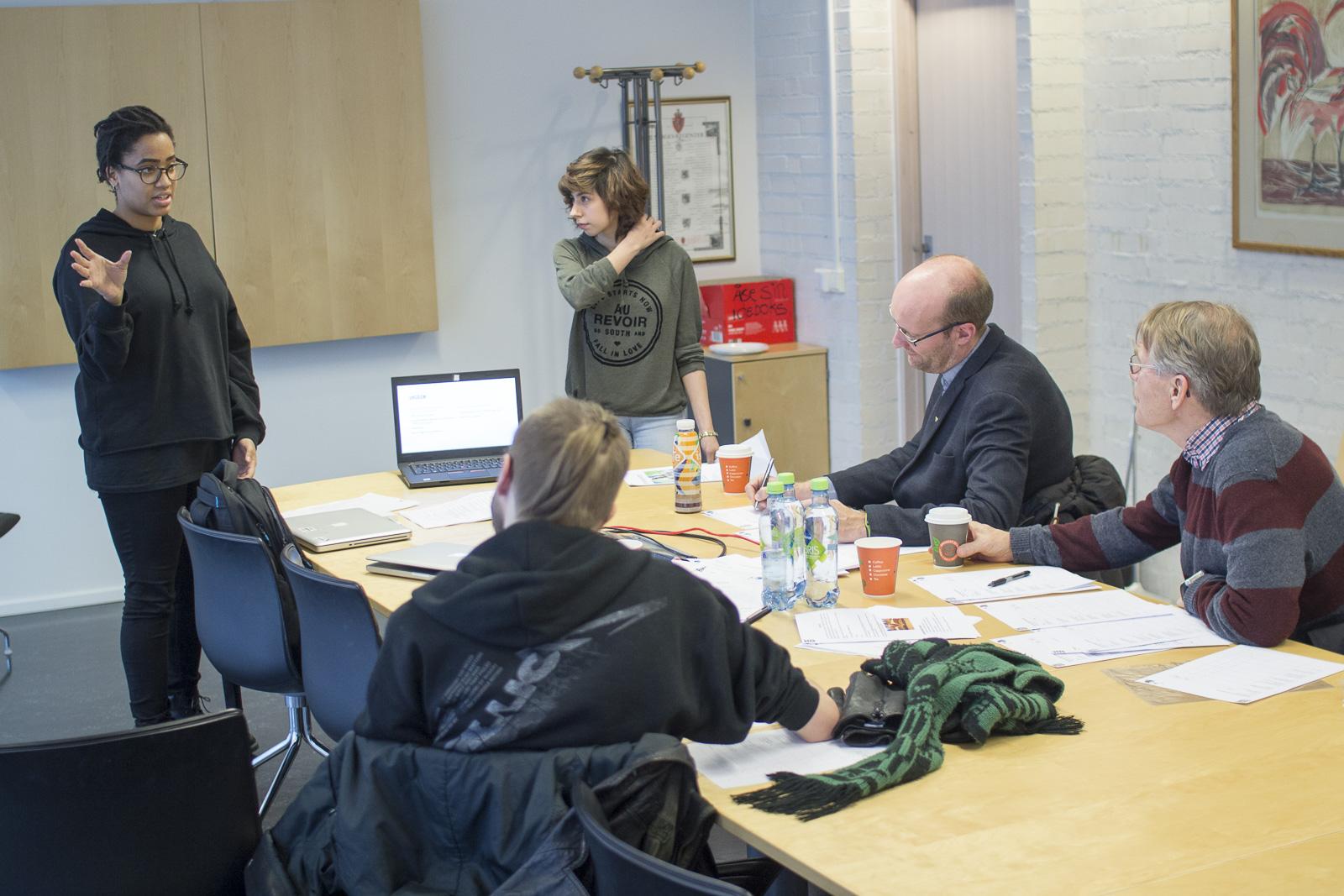 Medier og kommunikasjon ved Sørumsand vgs, åpen dag