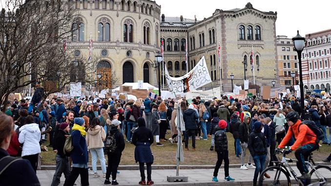klimastreik,barn,ungdom,oslo,mksørumsand
