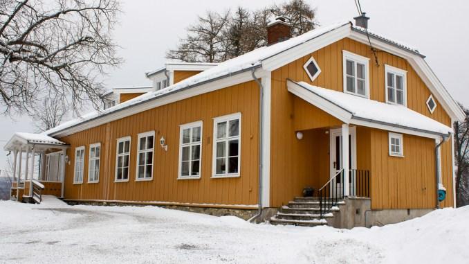 bygning,prestegård,foto,mksørumsand