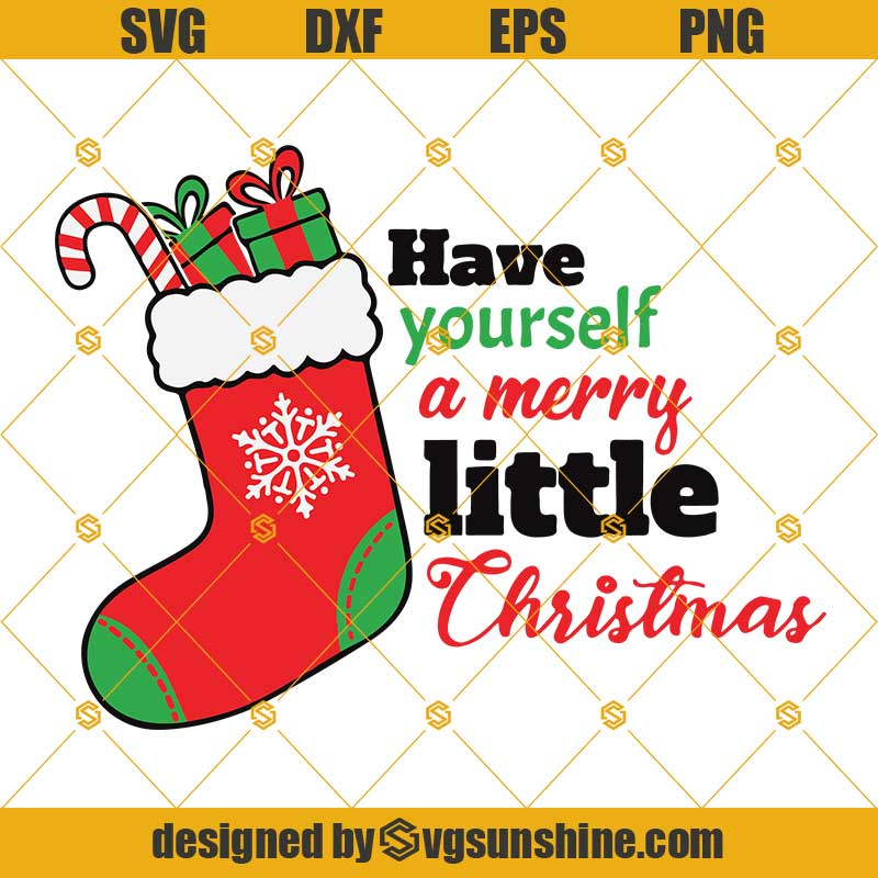 Merry Christmas SVG Insant download Christmas png eps svg T-shirt svg Christmas clipart Christmas stocking SVG