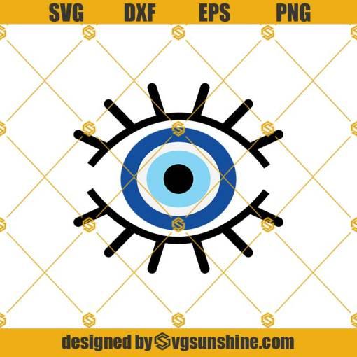 Evil Eye Eyes Cartoon Svg, Eyes Svg