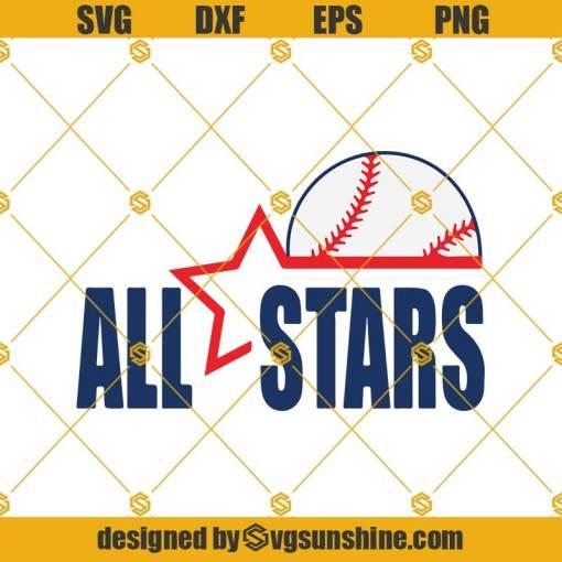 All Stars Baseball Svg, Baseball Svg, Baseball Season Svg