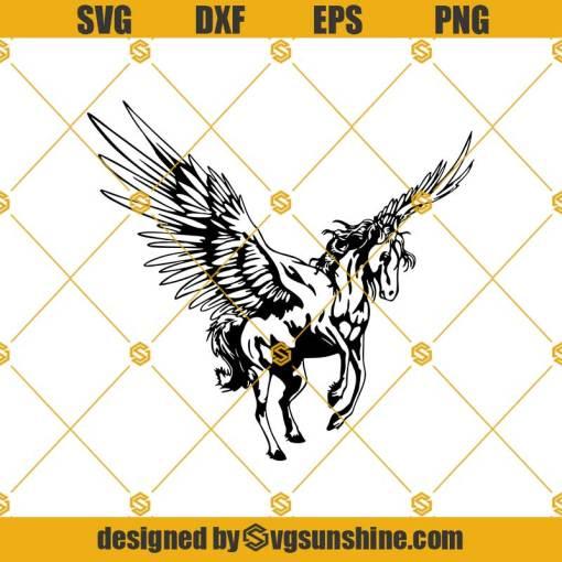 Pegasus Svg, Horse Svg