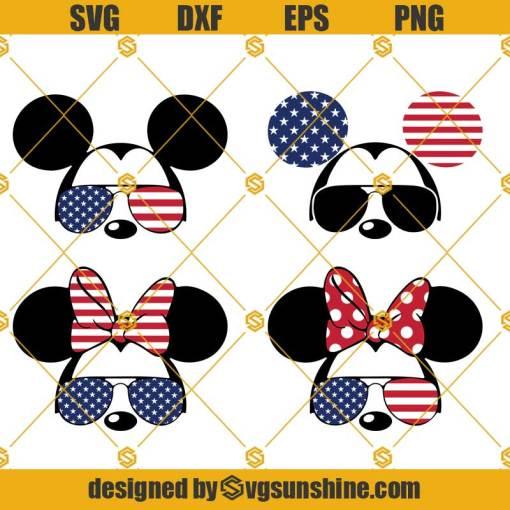 Disney Mickey Fourth Of July Svg, 4th Of July Svg, Disney Mickey Svg, Funny Mickey Svg
