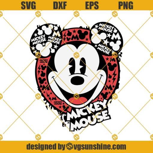 Disney Mickey Mouse Svg, Disney Mickey Svg, Funny Mickey Svg