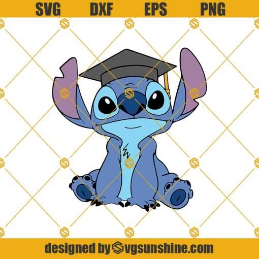Stitch Svg, Scrump Svg, Lilo And Stitch Svg, Disney Graduation Svg, Stitch Graduation Svg, Graduate Svg, Graduation Svg