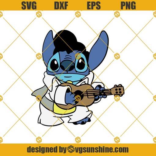 Stitch Guitar Svg, Stitch Svg, Scrump Svg, Lilo And Stitch Svg, Lilo Svg, Stitch And Angela Svg, Stitch Valentines Svg, Guitar Svg