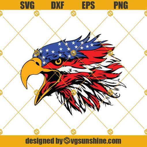 American Flag Eagle 4th Of July Svg, Eagle Svg, Eagle Flag Svg, American Flag Svg, Flag Svg, Patriotic Svg