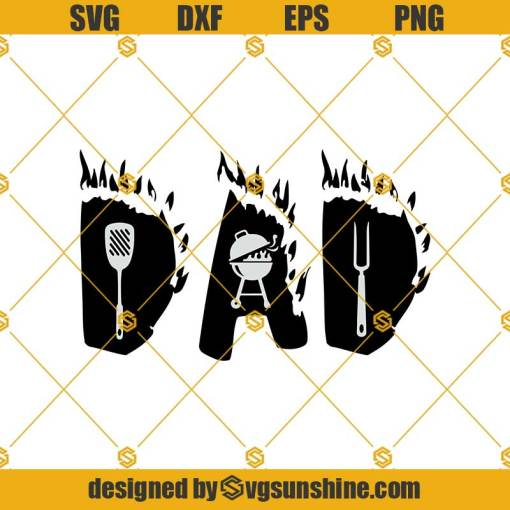 Dad SVG, Grill SVG, Grilling Svg, Fathers Day Svg, Grillfather Svg, BBQ Svg, Chef Svg, Grill Master Svg, Dad Life Svg, Dad Grill Svg