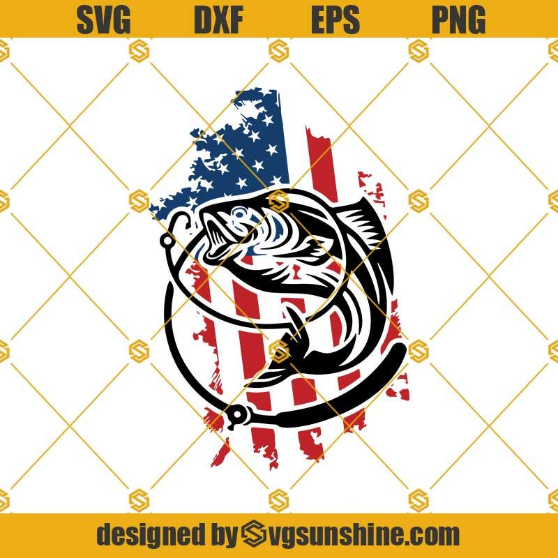 Download Fishing Distressed Usa Flag Svg Fishing Distressed American Flag Svg