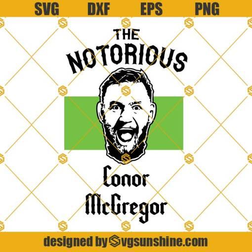 Conor McGregor SVG, UFC, Dublin, Ireland, Champion, The Notorious Conor Mcgregor Svg