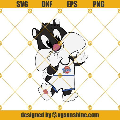 Baby Space Jam Characters SVG, Baby Looney Tunes SVG, Baby Tweety Space Jam SVG
