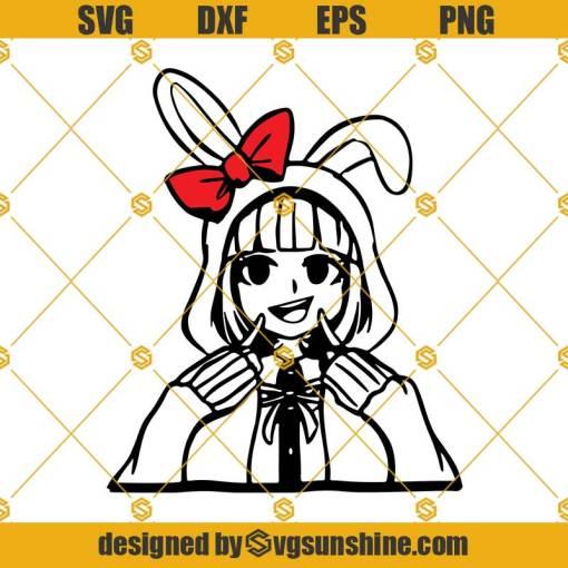 Chiaki Svg, Danganronpa Svg, Anime Girl Svg