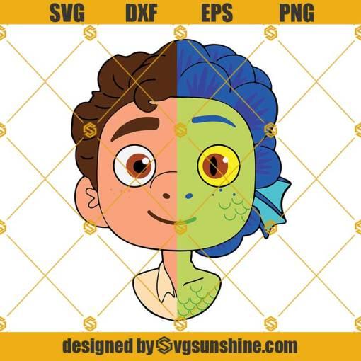 Luca SVG, Luca Pixar SVG, Movie SVG, Disney SVG