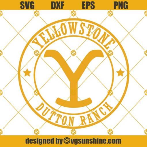 Yellowstone Dutton Ranch SVG, Yellowstone SVG