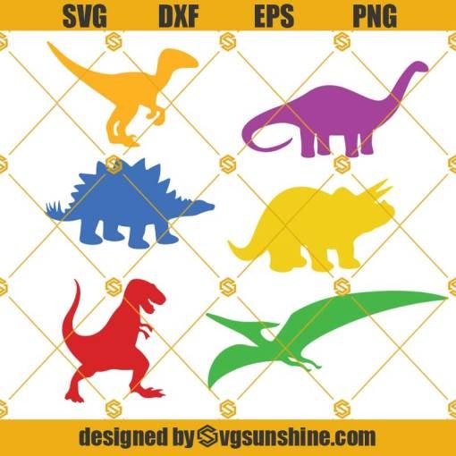 Dinosaur Bundle Svg, Dinosaur Svg