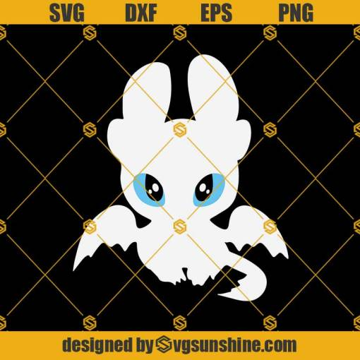 Light Fury dragon Svg, Toothless And Light Fury Svg, Toothless Svg