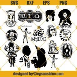 Beetlejuice SVG Bundle, Beetlejuice SVG, Lydia Deetz SVG, Sandworm SVG, Halloween SVG