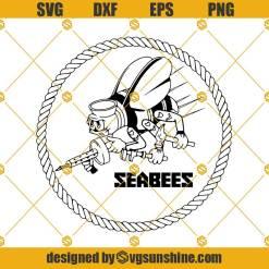 Navy Seabees SVG, Navy Svg