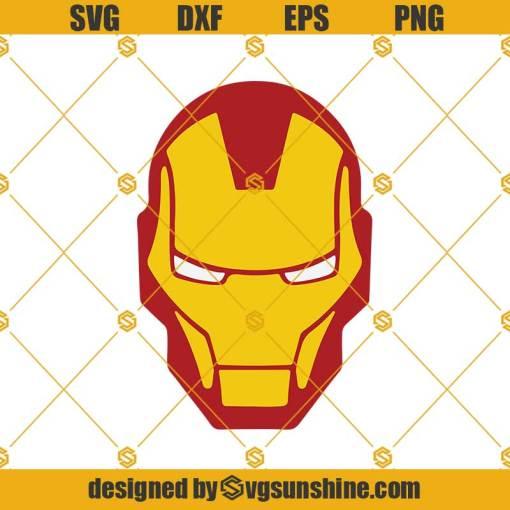 Iron Man Mask Svg