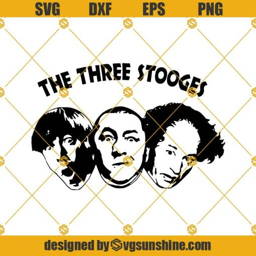 The Three Stooges Svg, Are The Three Stooges Brothers Svg