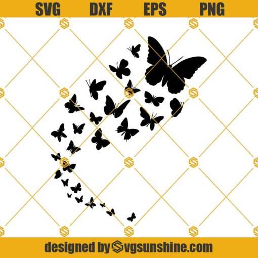 Flying Butterflies SVG, Butterflies SVG, Butterfly SVG