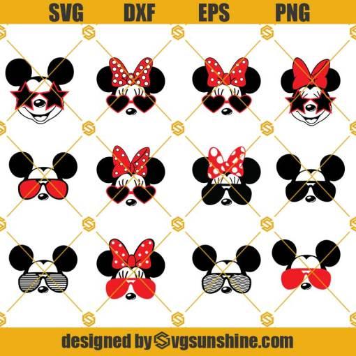 Mickey Mouse Svg, Minnie Mouse Svg, Mickey Mouse Head Svg