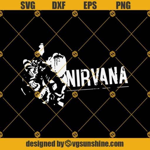 Nirvana Kurt Koban Svg, Nirvana Svg