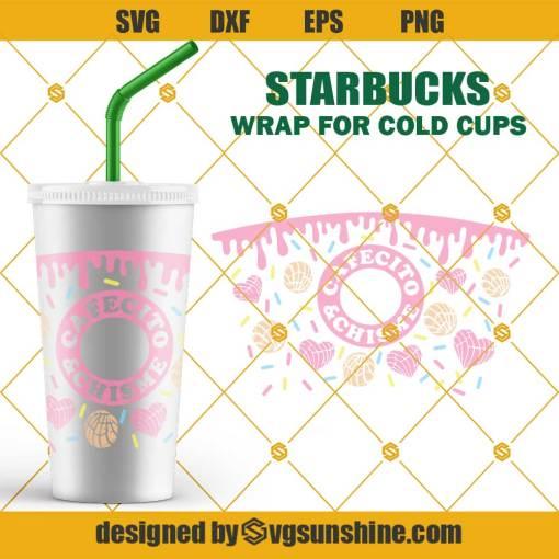 Cafecito y Chisme Starbucks Wrap SVG