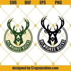 Milwaukee Bucks SVG, Nba Logo SVG Bundle, Milwaukee Logo for Cricut, Bucks Cut Files, Digital Download, Clip Art, Vector
